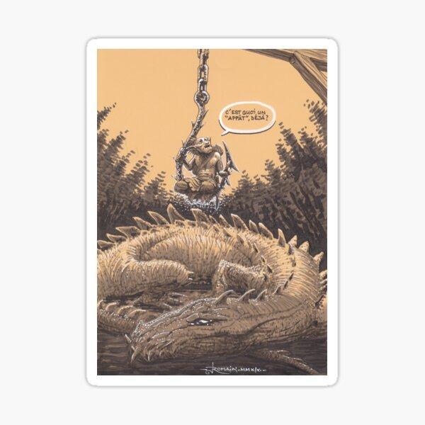 Dragon bait Sticker
