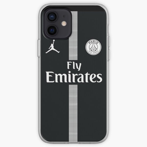 Vinilo o funda para iPhone PSG - Paris Saint Germain Funda blanda para iPhone