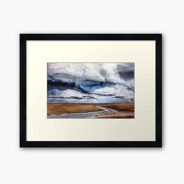 Early Evening on Old Hunstatnton Beach Framed Art Print