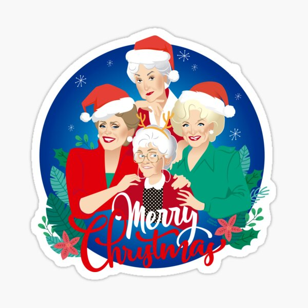 Christmas girls! Sticker
