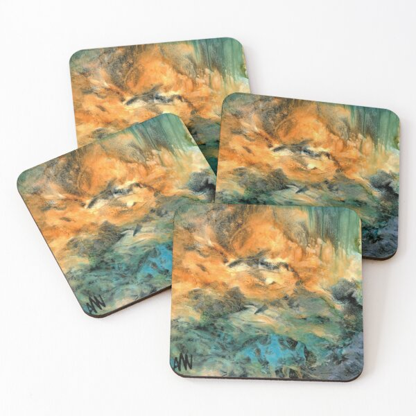 Fog Coasters (Set of 4)