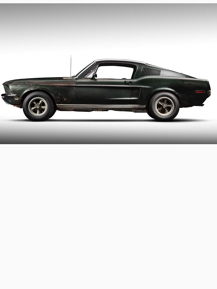 Ford Bullitt Mustang 1968 by liesjes