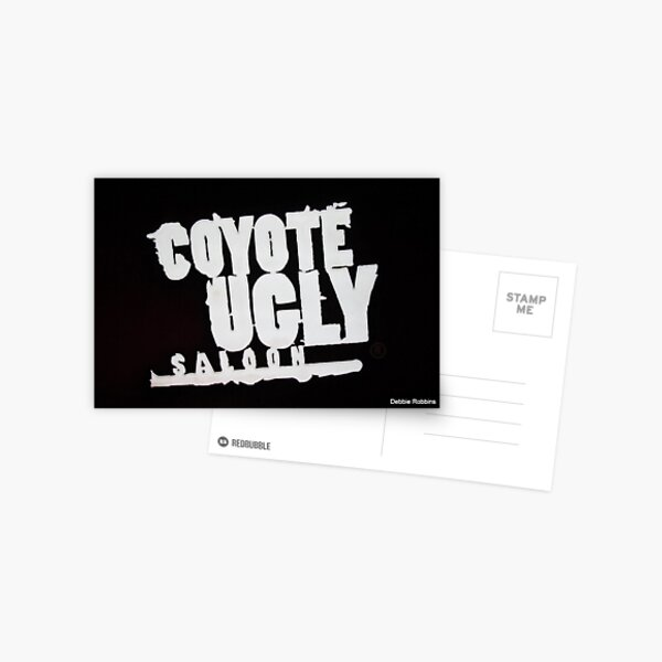 Coyote Ugly Sign, Nashville, TN Postcard