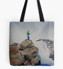 Just Fishing Tote Bag