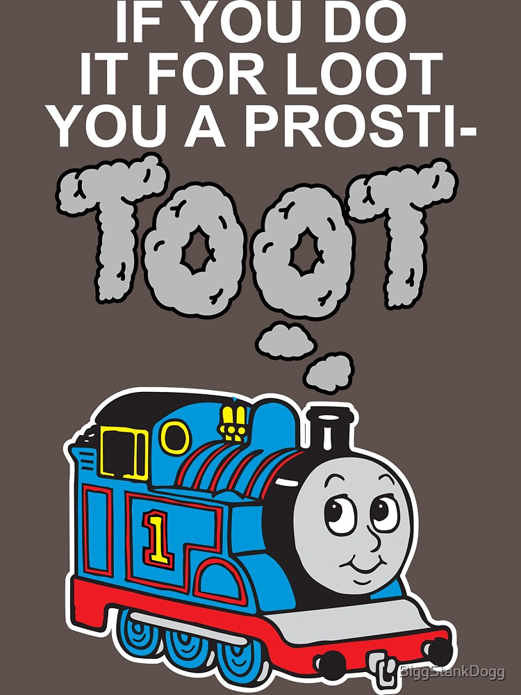 Prosti-TOOT! White Text | Unisex T-Shirt
