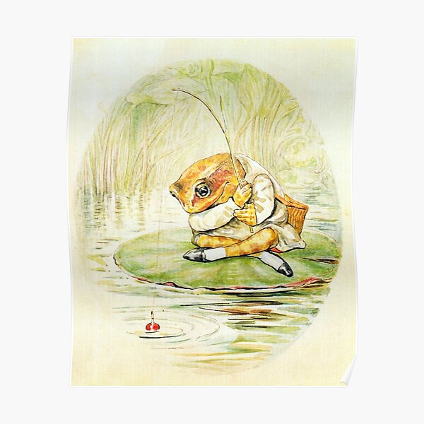 Jeremy Fisher - Beatrix Potter Poster