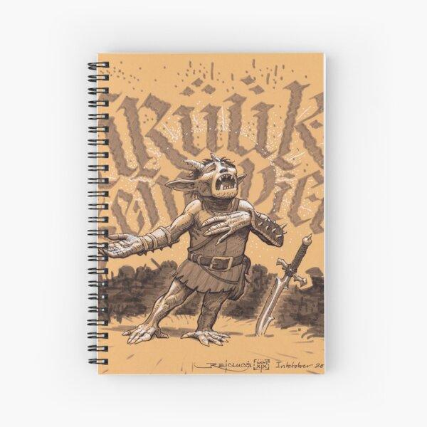 Opera Ork & Roll, husky Spiral Notebook