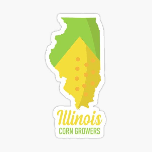 Illinois Corn Sticker