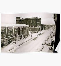 A Ghetto Snowstorm Poster