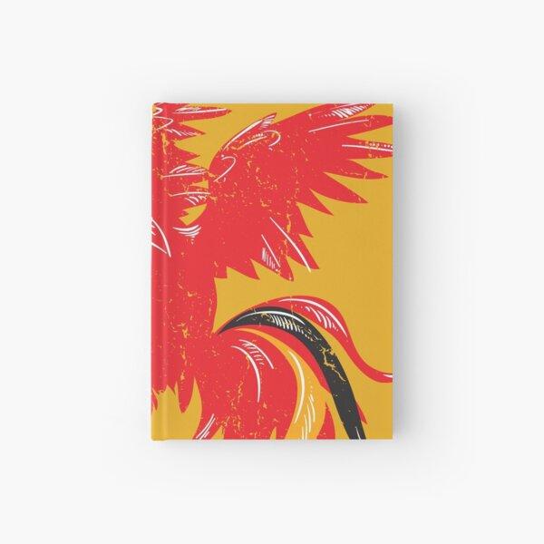 roten Hahn Notizbuch