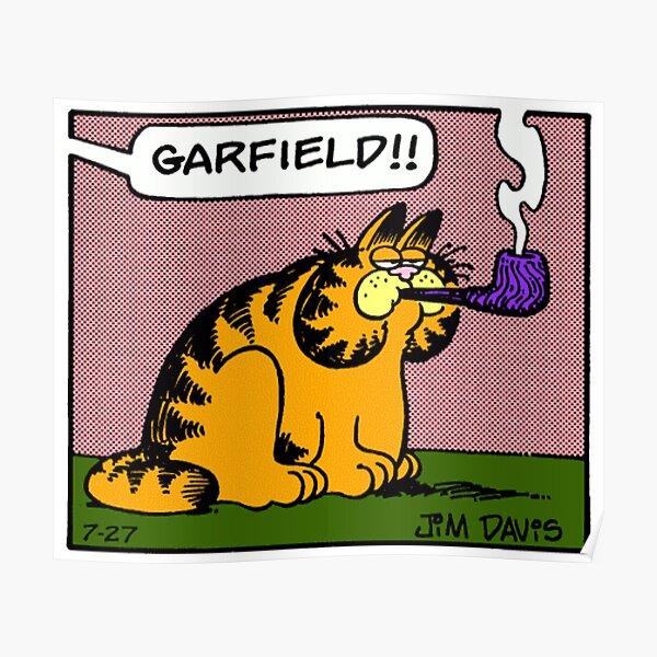 Garfield Meme Posters Redbubble
