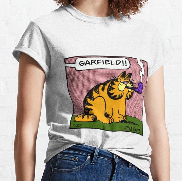 fumer garfield T-shirt classique