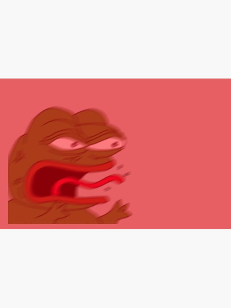 Pepe The Frog Reeeee Laptop Sleeve By Pepe Leaker Redbubble