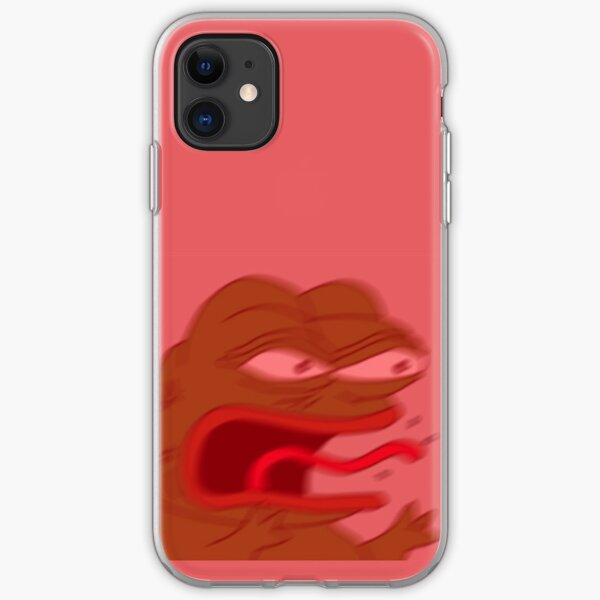 Pepe the frog - REEEEE iPhone Soft Case