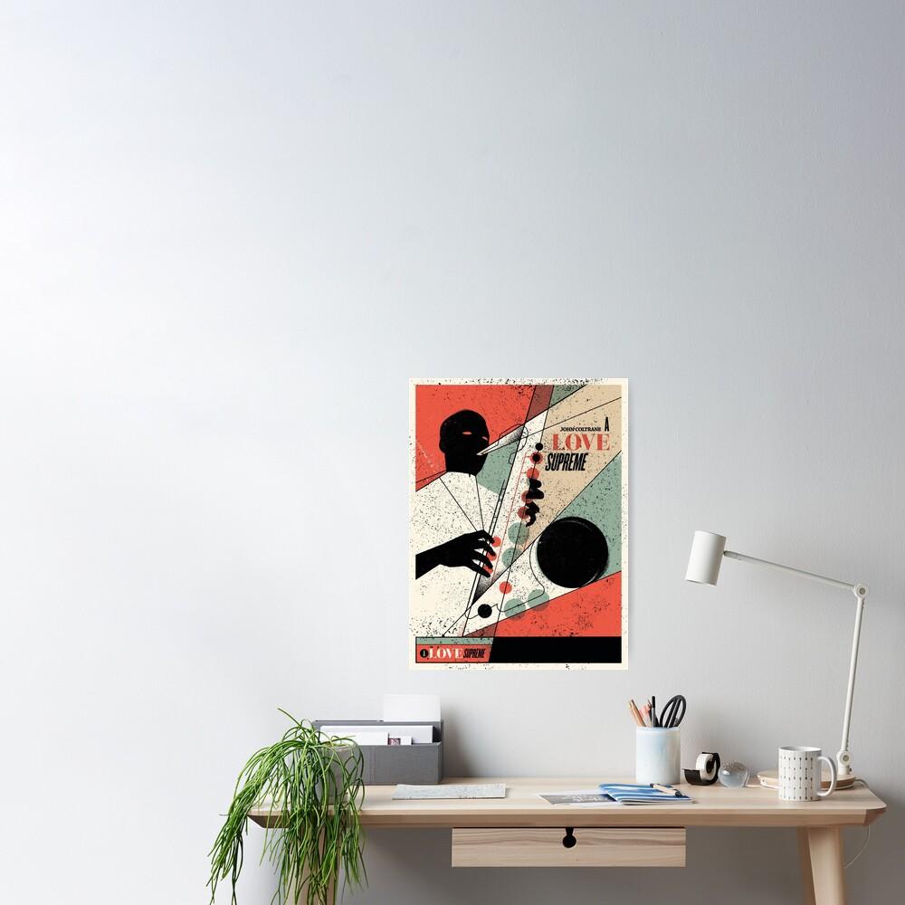 A Love Supreme (distressed design) Poster