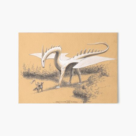 The Great Dragon Art Board Print
