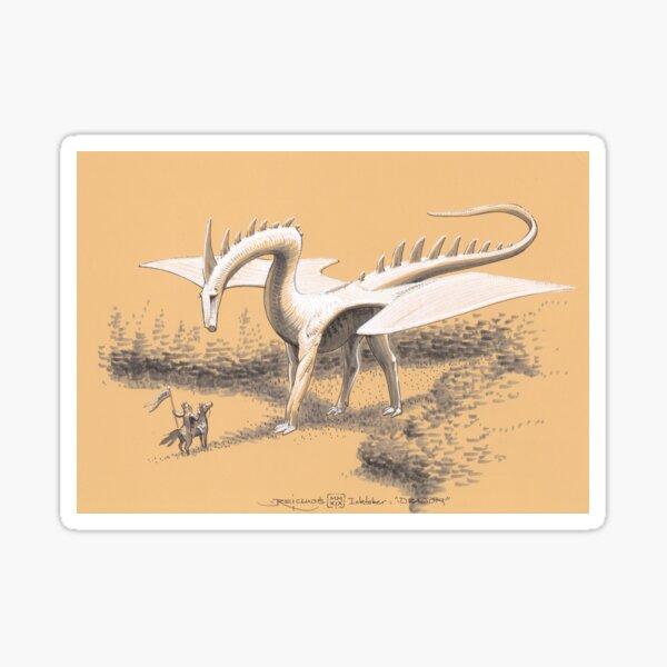 The Great Dragon Sticker