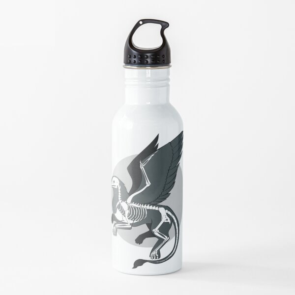 The Skeleton of a Griffin Water Bottle
