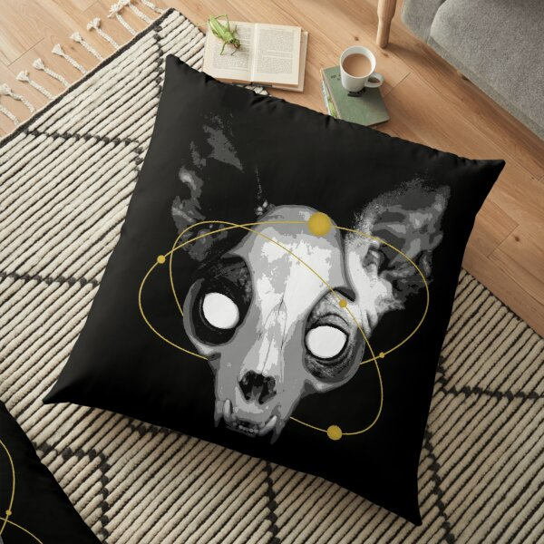 The Lord of Death Floor Pillow