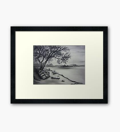 Peaceful Days Framed Print