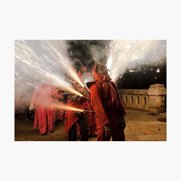 Light me up Photographic Print