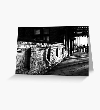 Path To The Station Greeting Card