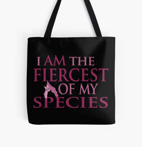 Fiercest of all creatures! All Over Print Tote Bag