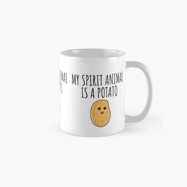 My Spirit Animal Is A Potato Classic Mug