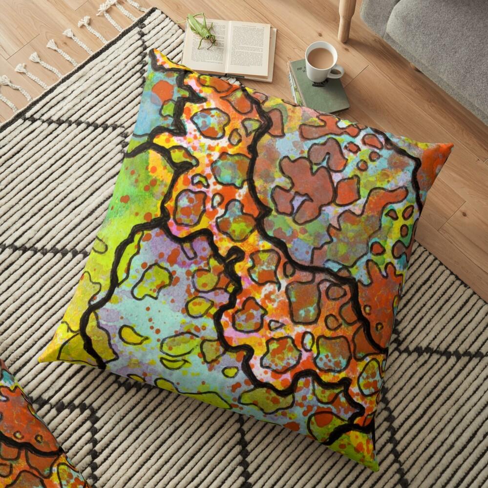 13, Inset A Floor Pillow