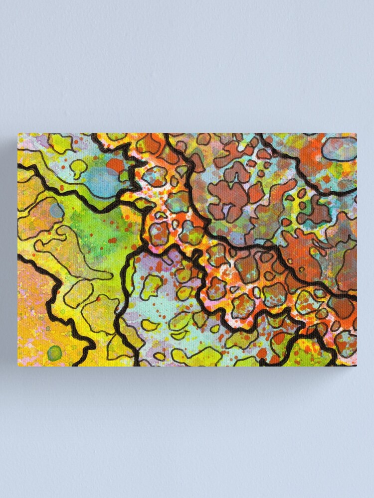 Alternate view of 13, Inset A Canvas Print