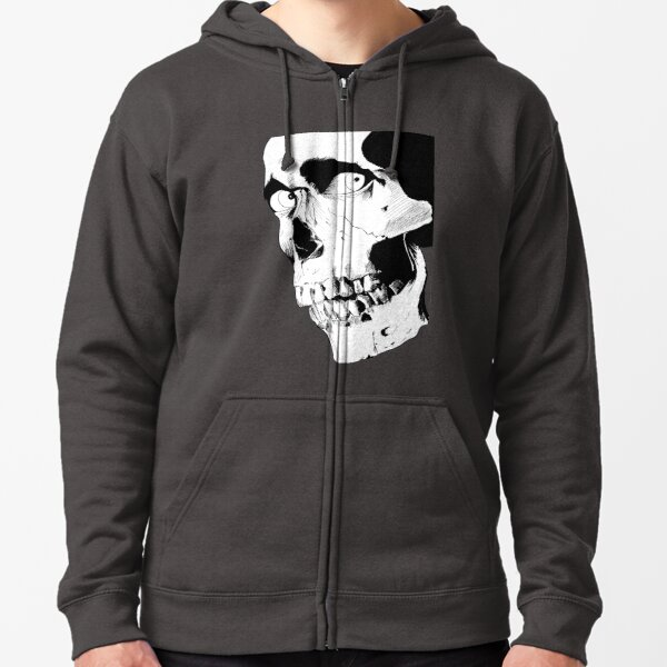 Evil Dead Skull Zipped Hoodie