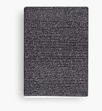 """""""Dictionary 10"""" (canon-cellar) Canvas Print"""