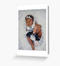 Yankee Baby Greeting Card
