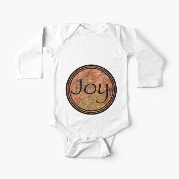 Joy Long Sleeve Baby One-Piece