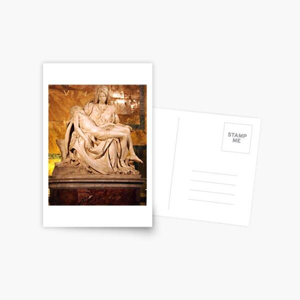 Michaelangelo's Pieta Postcard