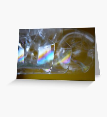 Let's make soap bubbles! Greeting Card