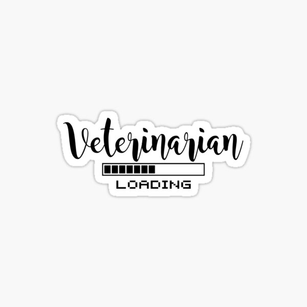 Carga veterinaria Pegatina