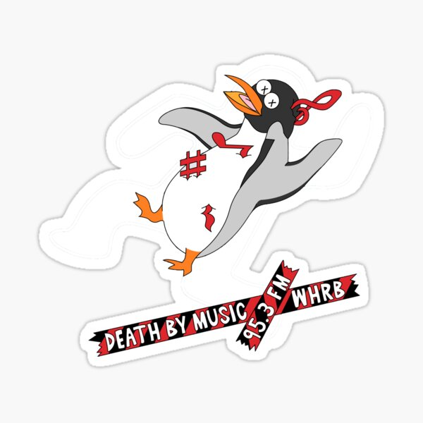 Death by WHRB Sticker