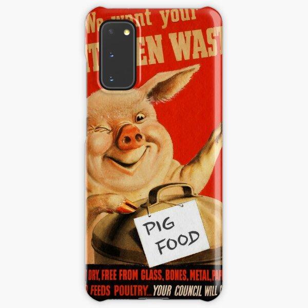 Piggy Wants Kitchen Waste WWII Samsung Galaxy Snap Case