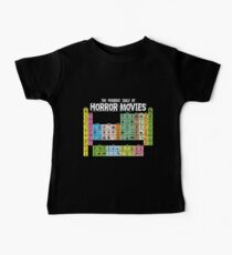Periodic Table of Horror Movies Kids Clothes