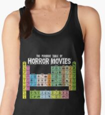 Periodic Table of Horror Movies Women's Tank Top