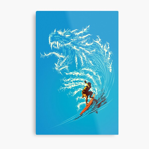 Blue Dragon Lámina metálica