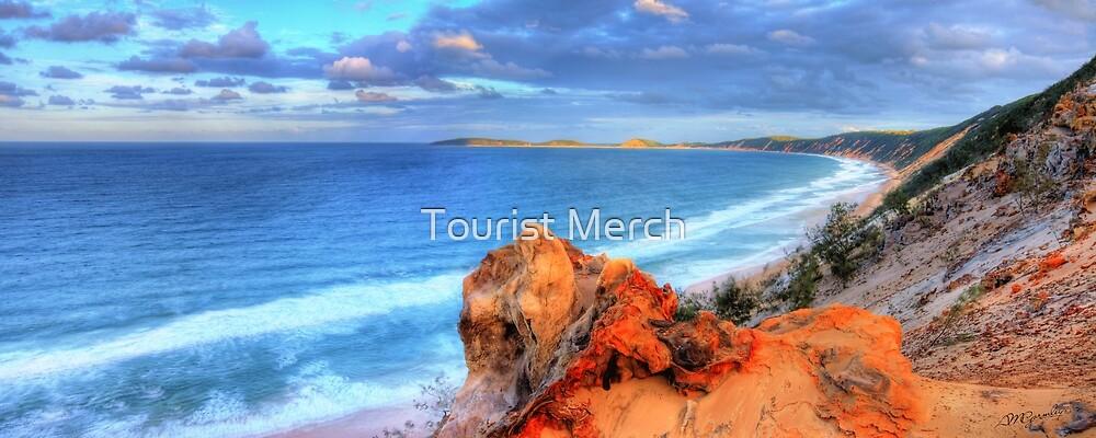 Rainbow Beach - Double Island Point by Adam Gormley