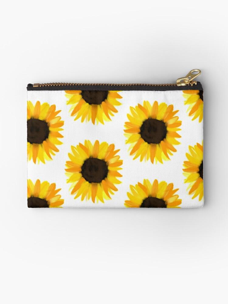 Sunflower pouch