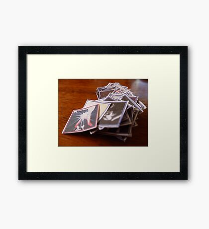 03-10-11:  Bookmaking Framed Print