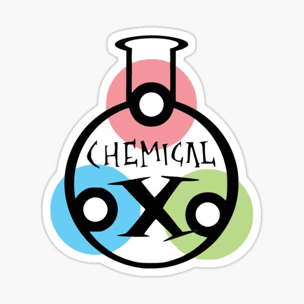 Chemical X Powerpuff Girls Sticker