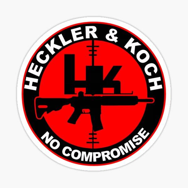 Heckler and Koch Logo Sticker