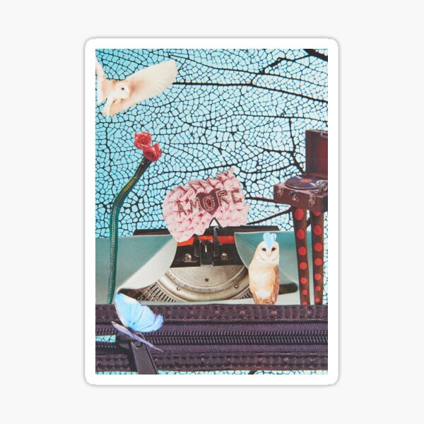 Translating Love Letters into Visual Songs of Wonder Sticker
