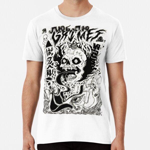 Grimez Doodlez Premium T-Shirt