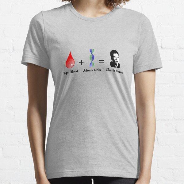 Tiger Blood + Adonis DNA = Charlie Sheen Essential T-Shirt